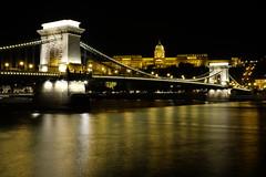 RRS03006 (zzra) Tags: bridge light castle night long exposure budapest trails chain duna danube