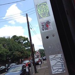 Graffiti slaps (mcknightpercy) Tags: columbus ohio art public sign tattoo outdoors graffiti sticker stickerart flickr baseball cincinnati tag cleveland jesus stickers arts vinyl culture tags scene ups vip slap usps graff taggers reds adhesive dayton 228 getup tagger slaps 651 slaptag insta stickerartists thimp slaptagger