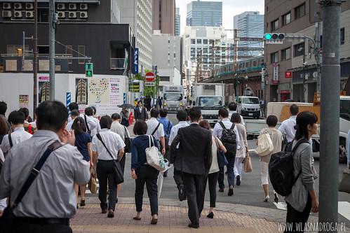 Ulice Tokio o poranku