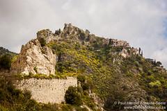 Hilltop town of Èze, France