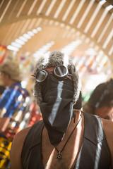 Burning Man 2015: Carnival Of Mirrors (jamenpercy) Tags: city carnival shadow wild man black art festival rock america temple desert acid nevada culture mirrors blackrockcity burning percy 2015 jamen