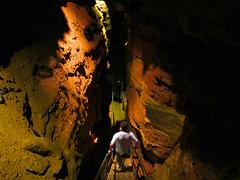 Marvel Cave Fatmans Misery (theeqwlzr) Tags: underground cave wtf unbelieveable canonrebelxti silverdollarcitymissouri marvelcavemissouri