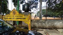 PeeVee Walks 25K KG Towers-1040023 (peevee@ds) Tags: city bangalore towers boundary peevee kempe gowda kempegowda bengaluru 25kmwalk peeveewalks25k kgtowers