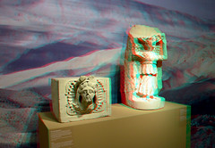 Statue of goddess from Khirbet at-Tannur Petra 3D (wim hoppenbrouwers) Tags: statue leiden 3d petra goddess stereo rmo rijksmuseumvanoudheden khirbetattannur statueofgoddessfromkhirbetattannur