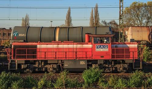 03.11.2005 Gelsenkirchen Bismarck. RAG 804 mit Falns