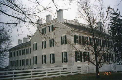 Shaker Village of Pleasant Hill - Harrodsburg ~ Kentucky ~ The Centre Family House ~    Main Family House