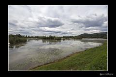 The Autumn Lake (Igor Letilovic) Tags: sky lake reflection nature leaves canon landscape dramatic croatia zagreb shore priroda hrvatska nebo obala jezero jesen 600d lisce pejzaz refleksija jesenje odsjaj zagrebacka bestovje oresje dramaticno