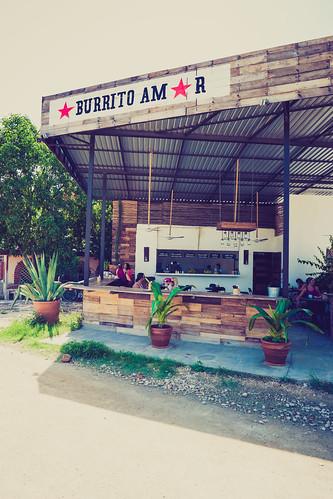 Burrito Amor Tulum Mexico