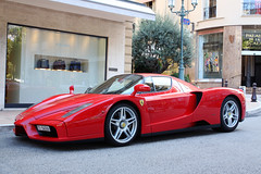 Ferrari Enzo Ferrari (Instagram: R_Simmerman) Tags: red summer ferrari monaco enzo carlo monte supercars switserland sportcars 2011 hypercars monacocars