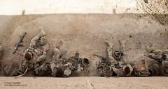 Pictured are Soldiers of C Coy 2 Royal Anglian using a compound as shelter during an operation. (Defence Images) Tags: uk afghanistan soldier army clothing gun desert military helmet free equipment camouflage weapon british bergen rucksack defense a2 defence machinegun firearm headwear personnel sa80 minimi assaultrifle combats 556mm smallarms lightmachinegun helmandprovince gereshk nonidentifiable hecklerkochag36 underslunggrenadelauncher