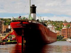 WILLIAM A. IRVIN. (C) (Warren Erickson 54880) Tags: park lake minnesota boat ship cannon slip lakesuperior canalpark stlouisriver williamairvin duluthminnesota cannong10