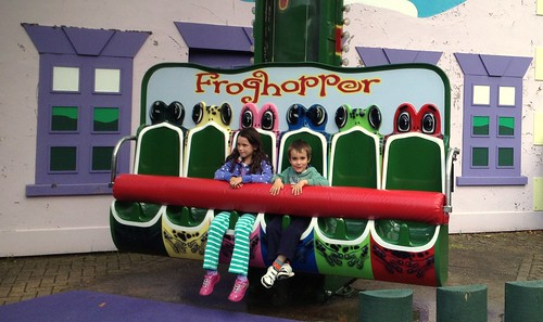Riding The Froghopper