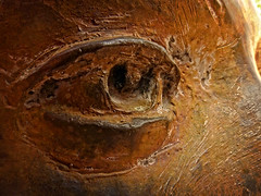 Metal Eye (arbyreed) Tags: old sculpture eye statue closeup close meat weathered sculpturedetail macromondays arbyreed metaeye weatheredorworn