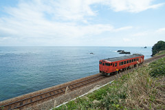 20151017-DS7_5638.jpg (d3_plus) Tags: street sea sky nature japan train river photo nikon angle wide railway super jr daily days sp di  toyama these af  tamron    ld 1735mm himi      1735 aspherical   a05   tamronspaf1735mmf284dildasphericalif f284 d700
