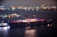 DSC_4789_001 (NAVY_ICHIHO) Tags: nightphotography japan ship nightshot illumination nightview yokohama  fleetreview nightimage jmsdf      ddh183 jsizumo