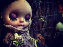 G O O D N I G H T 🌔 #love #blythe #customblythe #doll #ブライス #カスタムブライス #人形 #halloweenfun