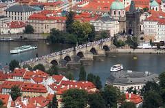 Charles Bridge, Prague (wouterblaas) Tags: bridge republic czech prague charles most karlv