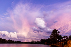 Natures Show! (TonyinAus) Tags: sunset sky storm colour canon australia newsouthwales portmacquarie midnorthcoast