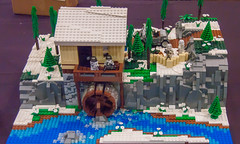 Water Mill (SEdmison) Tags: california germany lego military nazi worldwarii german convention santaclara outpost bricksbythebay bricksbythebay2015