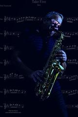 the Player (Peet de Rouw) Tags: music selfportrait holland art photoshop performance jazz blues creation sax zelfportret saxophone saxo altosax saxofoon denachtdienst peetderouw