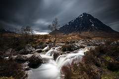 Buachaille Etive Mor (Tony N.) Tags: longexposure bw mountains montagne river scotland highlands europe rivire buachaille vanguard etive glenetive ecosse buachailleetivemor poselongue scottishlandscape d810 nd110 coupall tonyn bwnd110 nikkor1635f4 tonynunkovics coupallriver