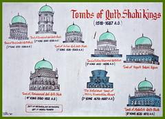 India - Telangana - Hyderabad - Qutb Shahi Heritage Park - Signboard - 4 (asienman) Tags: india hyderabad tombs telangana asienmanphotography qutbshahiheritagepark
