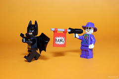 Bang! (wastuaji) Tags: lego batman joker minifigure