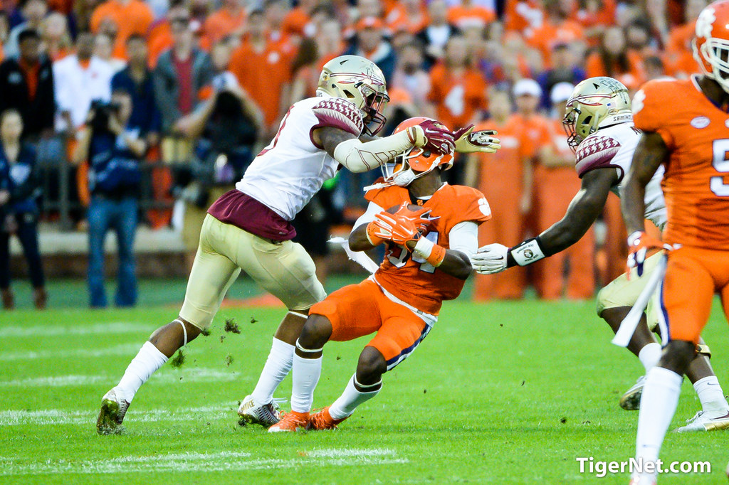 FSU at No. 1 Clemson - 2015