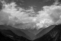 (samujjwalsahu) Tags: travel blackandwhite india mountains color clouds wanderlust himalayas sikkim himalayan northsikkim