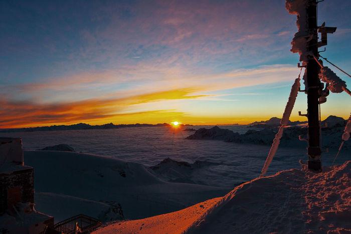 Klein Matterhorn Glacier  Paradise