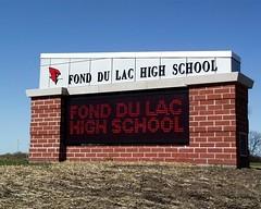 Signarama Fond du Lac, WI | Electronic Message Center | Fond du Lac High School