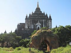 "Old Bagan: le temple Thatbyinnyu Pahto <a style=""margin-left:10px; font-size:0.8em;"" href=""http://www.flickr.com/photos/127723101@N04/23169974522/"" target=""_blank"">@flickr</a>"