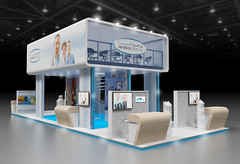 Exhibition Stand 3D Render