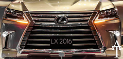 LX (ATFotografy) Tags: show car japan canon eos lights jeep 4x4 good awesome tail indoor best made saudi arabia vehicle motor dslr suv riyadh luxury lexus in 2016 600d lx570 atfotografy