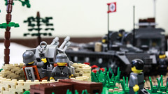 AA gun ready! (kr1minal) Tags: world war lego bricks nazi wwii german panzer moc brickmania panzerbricks