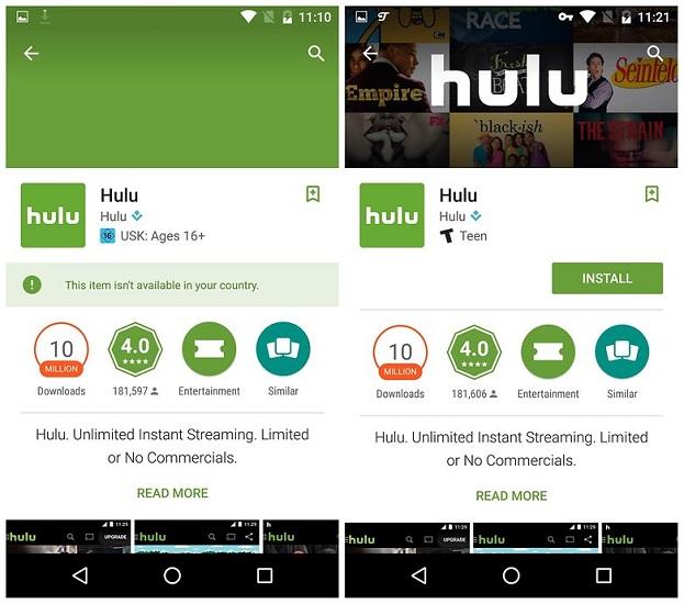 វិធីសាស្រ្តទាញយកកម្មវិធី/ហ្គេម ដោយមិនចាំបាច់ ផ្លាស់ ប្តូរ Store ប្រទេស (Android)