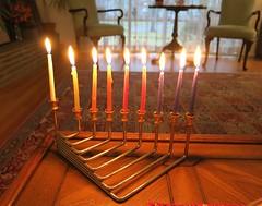 Monday Colours - Last Day of Hanukkah (Pushapoze (MASA)) Tags: candles explore hannukah hannukiah lasteveningofhanukkah eightonecandles
