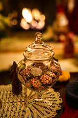 ~Home and Hearth~ (cheryl c.) Tags: home fireside sprinkles hearth candyjar christmasseason richtones