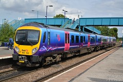 185135 passes Barnetby for Cleethorpes (Tim R-T-C) Tags: railroad station train railway mainline barnetby 1b74 class185 firsttranspennineexpress 185135 penninedesiro