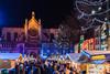 Beautiful Christmas atmosphere in Brussels, Belgium (George Pachantouris) Tags: christmas brussels holiday season belgium market eruope markt grote