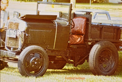 Antique Truck (creepingvinesimages) Tags: outdoors us newhampshire trucks antiquevehicles carshow htt