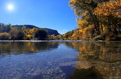 Au fil du Verdon (Malain17) Tags: waterscape reflets colors photography photographers pentax image automne arbres rivire sky perspective verdon eau earth