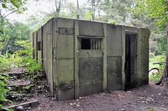 Prefabricated Pillbox, Basingstoke Canal. (stavioni) Tags: sheets heath basingstoke canal pillbox type 26 prefab prefabricated