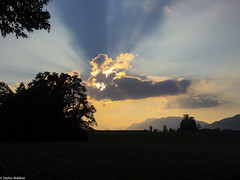 wow (picturesbywalther) Tags: wow clouds sky sonne sun nature abend evening iphone landscape landschaft sunset
