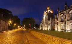 Evening Light Kings College - University of Aberdeen (euan_pics) Tags: evening light kings college university aberdeen