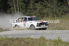 _DSC4444a (chris.jcbphotography) Tags: special stage 4 dalby forest trackrod rally yorkshire motor club ford escort mkii steve bannister driver callum atkinson historic cup
