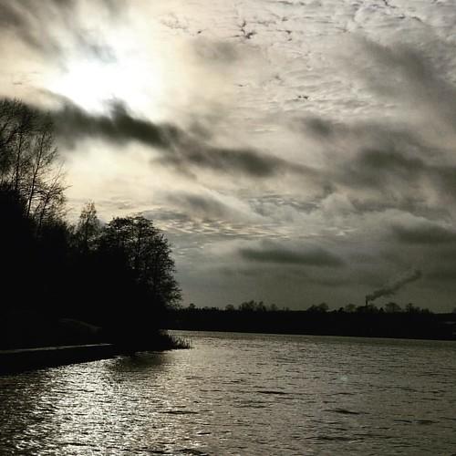 #небо #облака #солнцевидноиногда #sky #clouds #sun