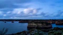 Blue hour, Bay of Islands (Derek Midgley) Tags: dsc05583 bayofislands peterborough greatoceanroad victoria australia