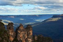 three Sisters (sabinakurt62) Tags: thetreesisters katoomba bluemountains landscape cloud sky beautiful photography spring nature nikon australia