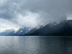 Teton views #12 (jimsawthat) Tags: clouds fog lake jacksonlake mountains rural wyoming grandtetonnationalpark